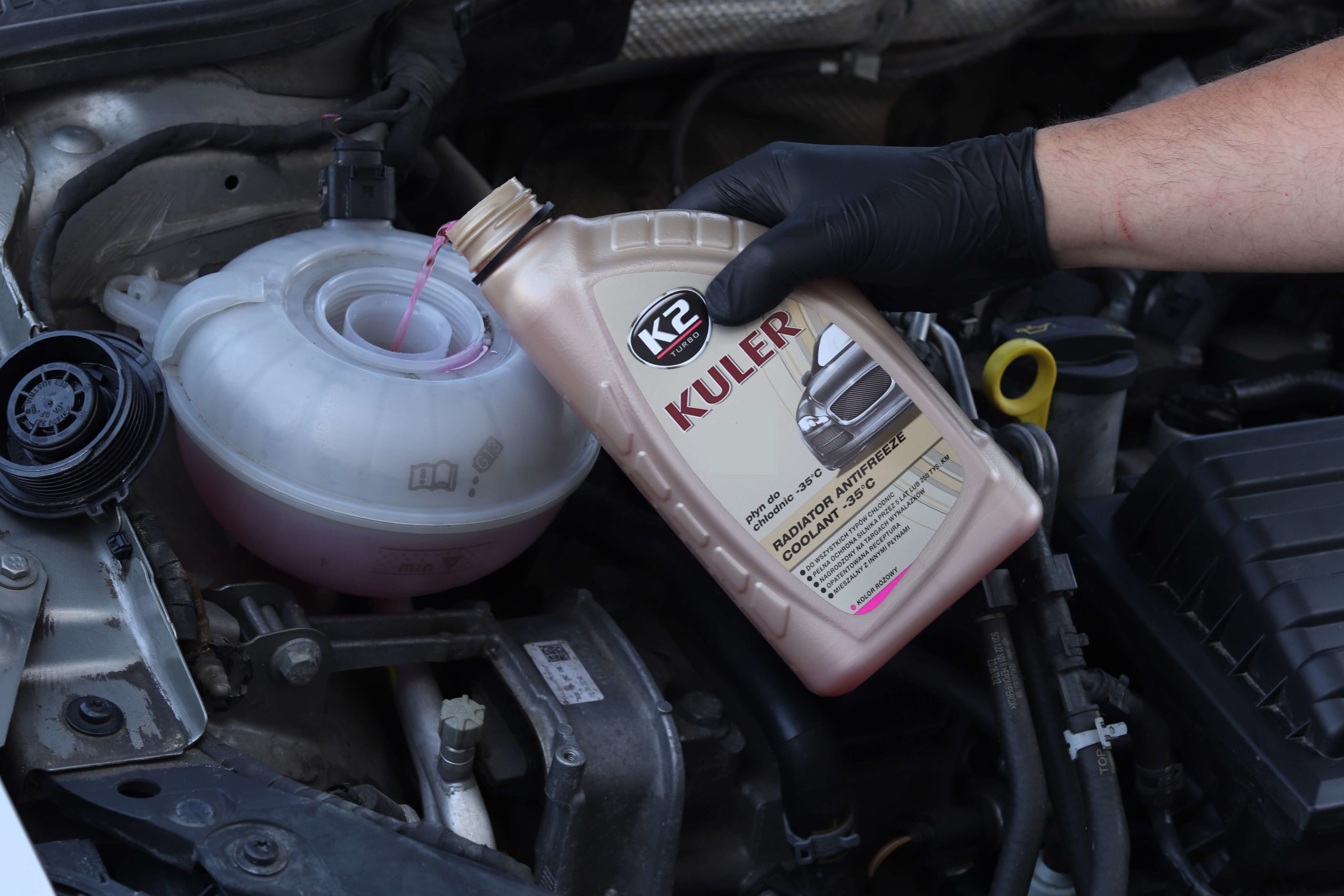 Colour of the engine coolant – debunking myths and confirming facts