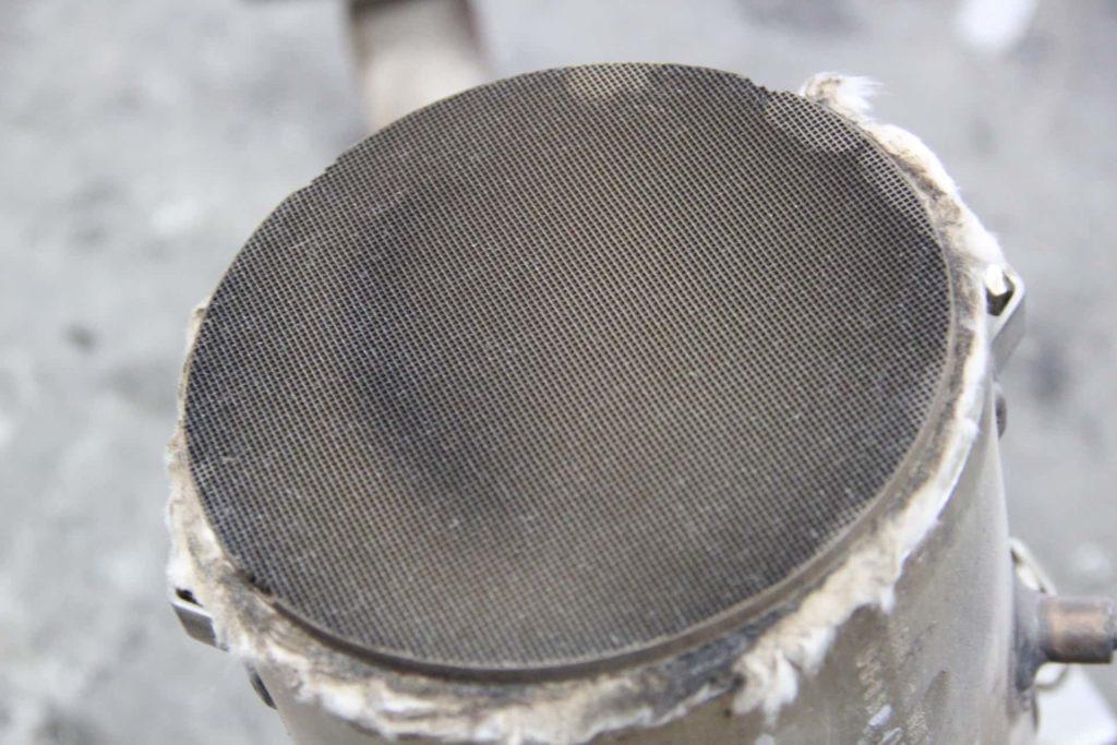Wet DPF filter