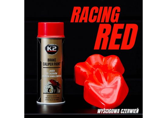 K2 BRAKE CALIPER PAINT 400 ML RED