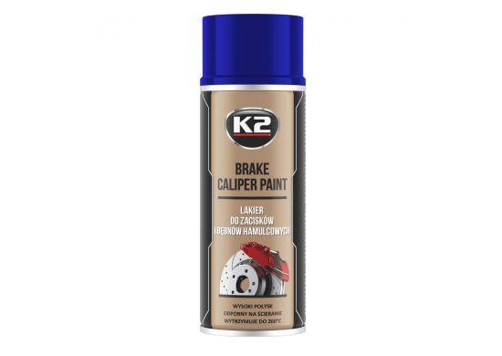 K2 Brake Caliper Paint 400 Ml Blue K2 Car Care Products